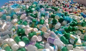 indústria de reciclagem de embalagem