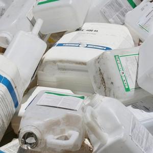 Descarte de lixo químico